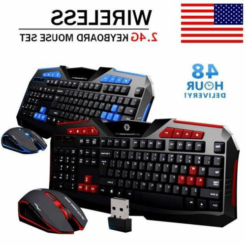 2.4G Wireless and Set for PC Gamer