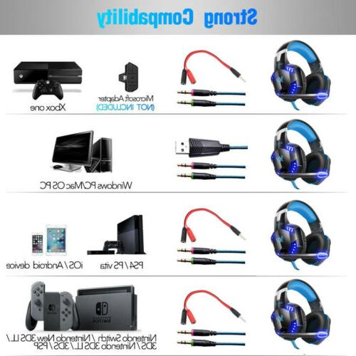 3.5mm Gaming Headset LED Keyboard Bundles