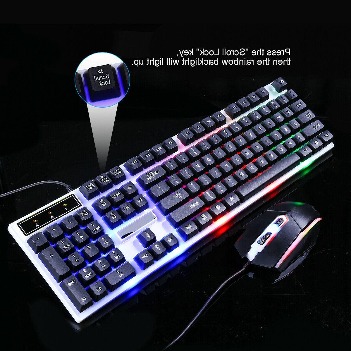 Computer Gaming and Mouse LED Light
