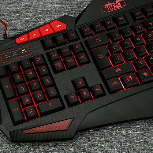 Gaming and Mouse Sets - Cool Colors LED Wired Mouse Computer Games Including Mouse
