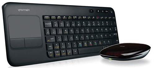Logitech Harmony Smart Keyboard for Living Room Control of 8