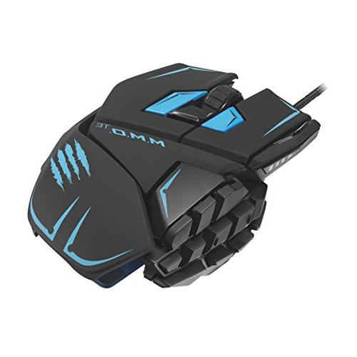 Mad Catz M.M.O.TE Edition Gaming Mouse PC -Matte Black