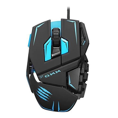 Mad Catz M.M.O.TE Tournament Edition Gaming Mouse for PC -Ma
