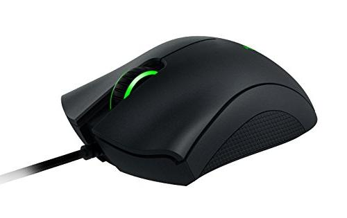 Razer DeathAdder Multi-Color Ergonomic Gaming - - Comfortable Grip - World's Popular Mouse