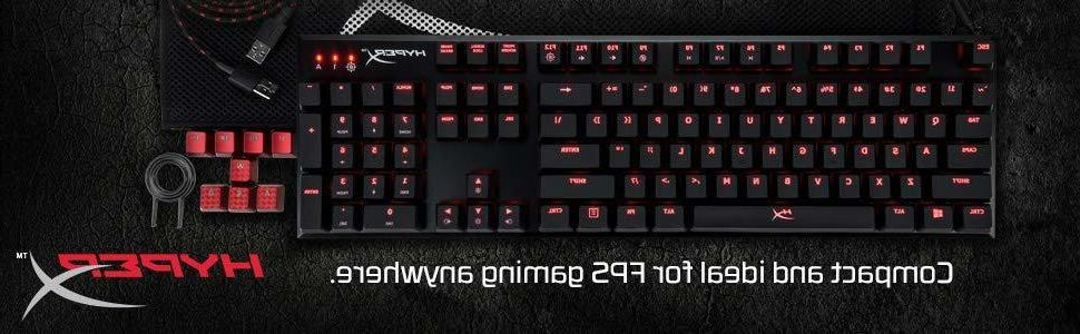 alloy fps mechanical gaming keyboard accessories compact