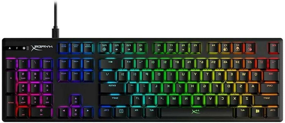 HyperX Alloy Origins Wired Gaming Mechanical Aqua Switch Ful