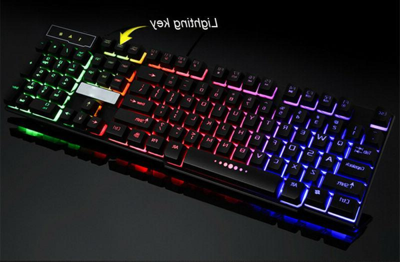 Backlit Gaming Keyboard Adjustable 3 Gamer