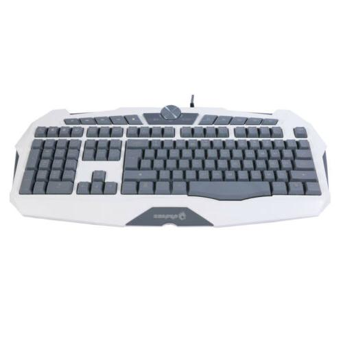 Cool USB Gaming Keyboard Illuminated Pc Loca