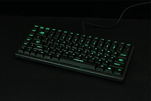 Noppoo Choc Mini RGB backlighting REALKEY Gaming Keyboard