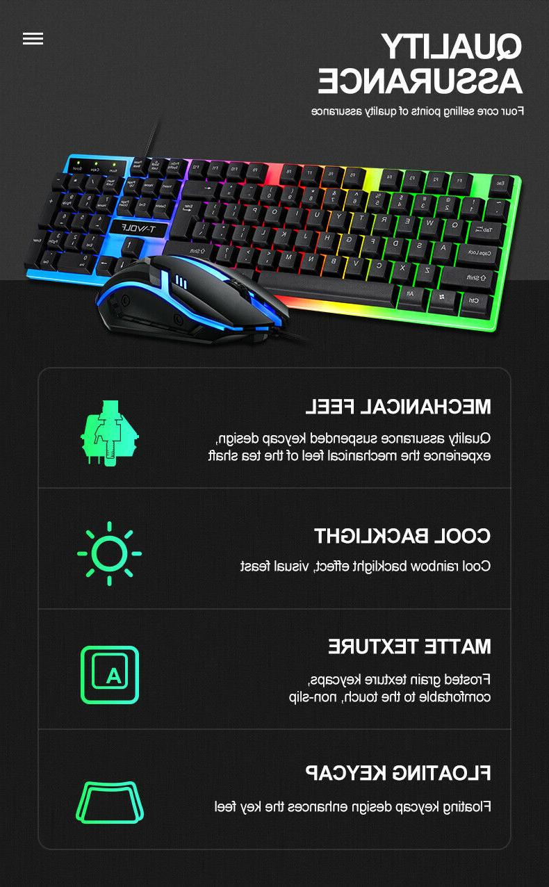 Computer and Mouse RGB Led