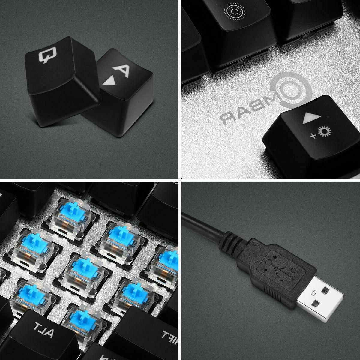 Ombar Gaming Keyboard Key LED Backlit Switche