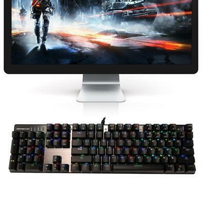 Computer RGB Keyboard And Mouse Feeling Keyboard