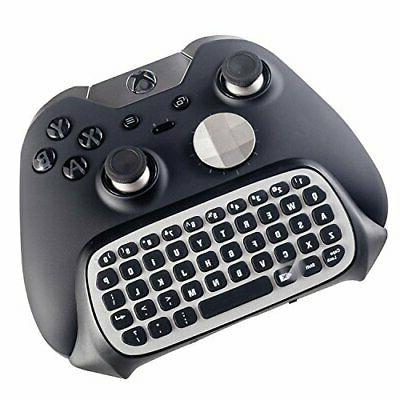 elite xbox one s chatpad mini gaming