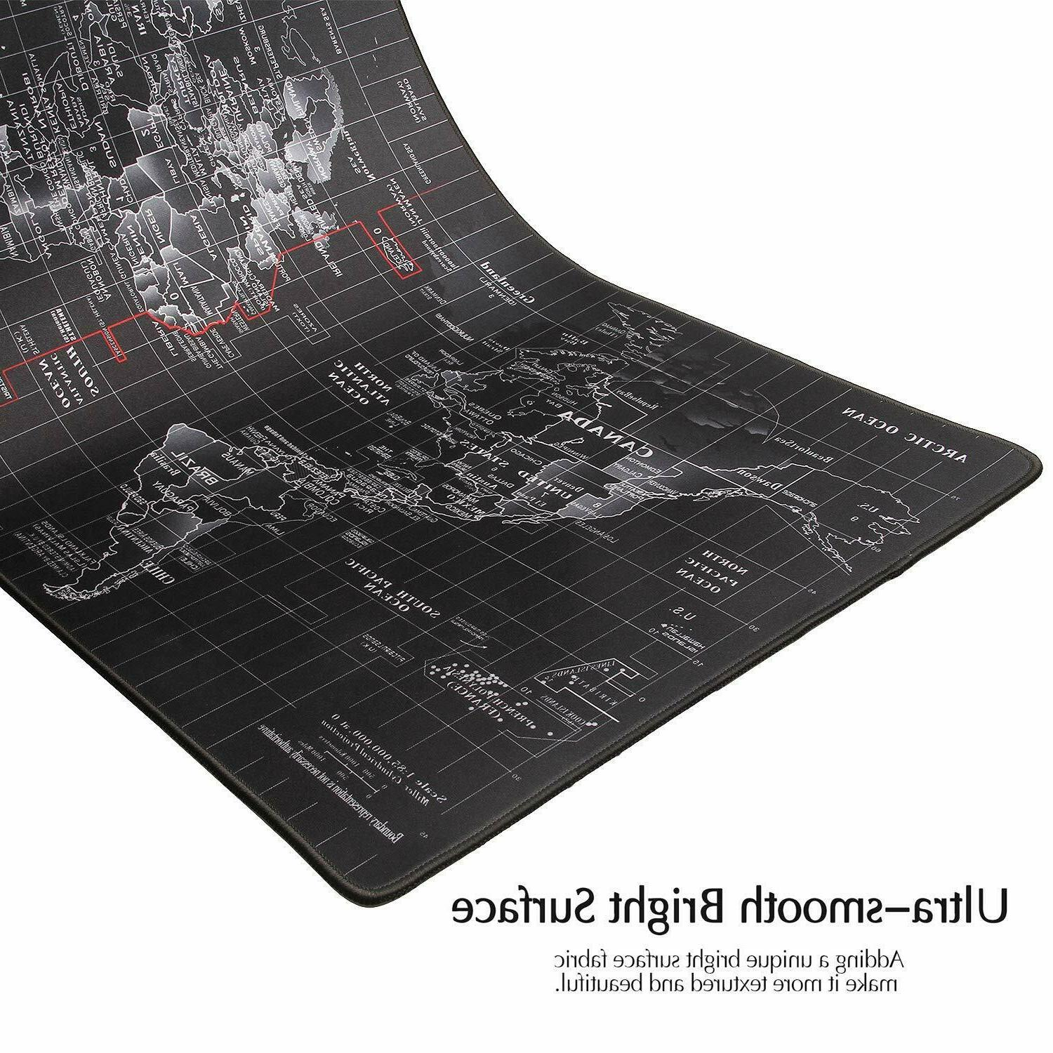 Extended High-Performance Gaming Mouse Keyboard Mat