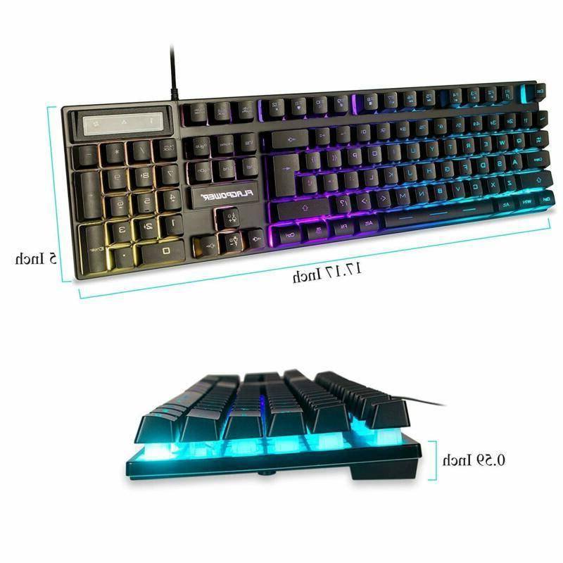 Keyboard for PS4 Rainbow