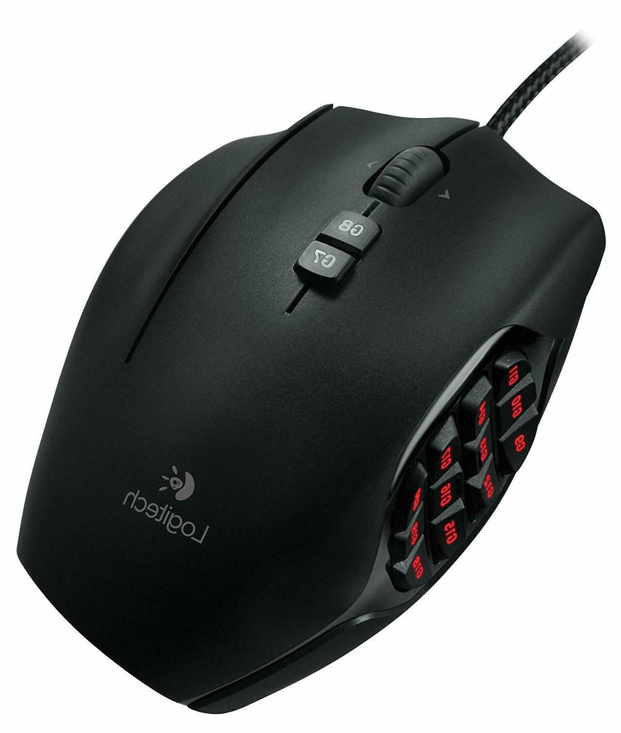 Logitech G600 MMO Gaming Mouse RGB Backlit 20