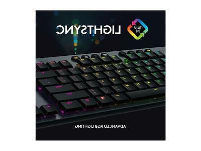 Logitech Lightspeed RGB Mechanical Gaming With Clicky