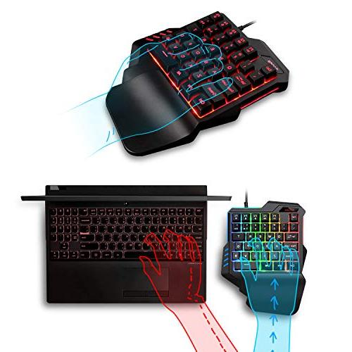 Gaming Gaming Feel Wide with 35 Gaming Keyboard Backlight, Game