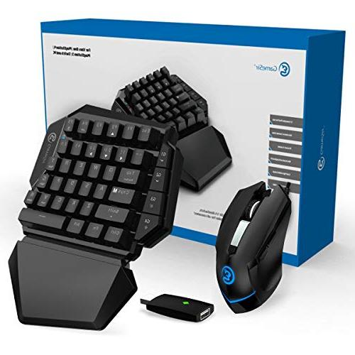 Gaming for Xbox One, PS3, Nintendo PC, GameSir Keypad and Mouse Combo Adapter for Computer