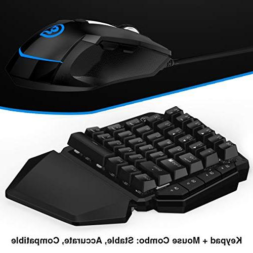 Gaming Mouse for PS3, PC, GameSir Keypad Mouse Combo Adapter for