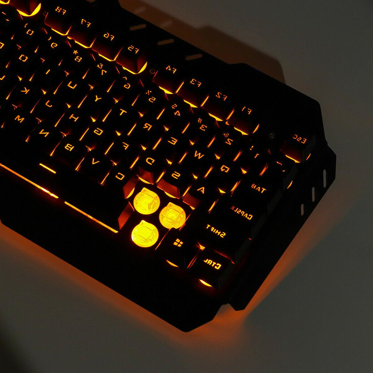 Computer Gaming and Mechanical Led Light Backlit