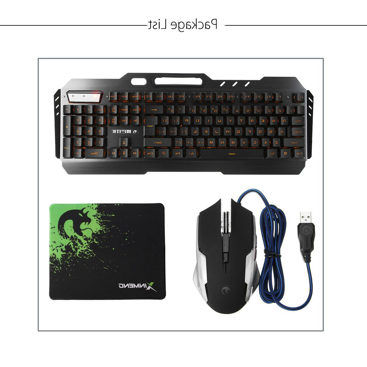 Gaming Keyboard Mechanical Pad