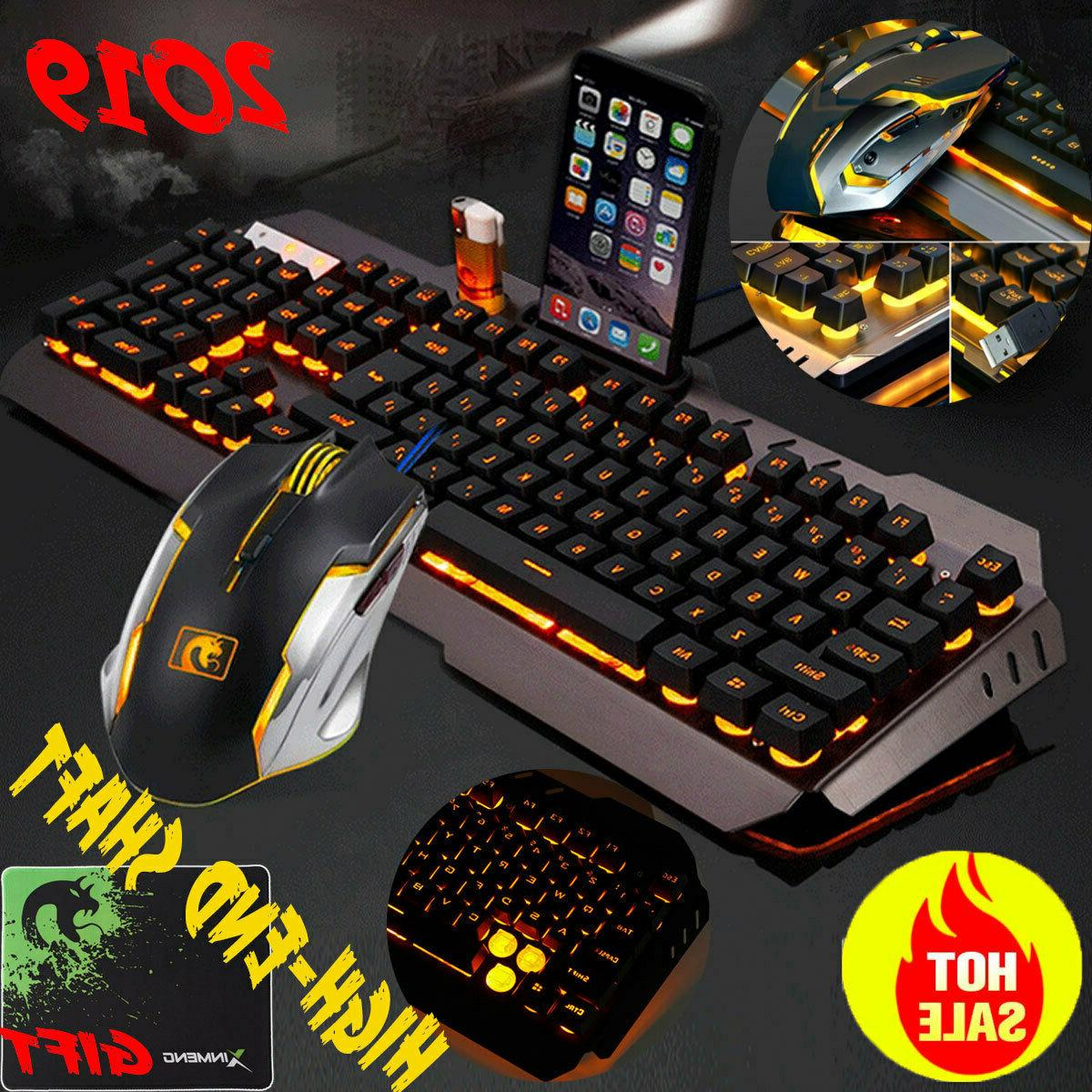 gaming keyboard and mouse mechanical feel