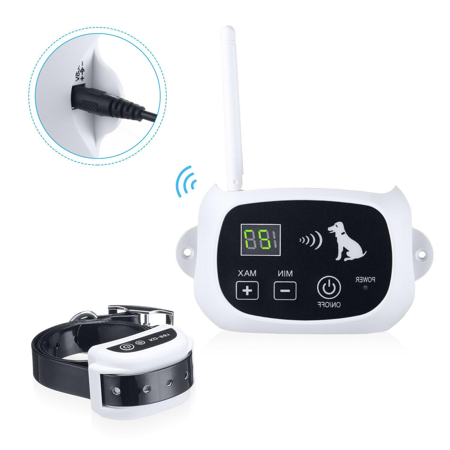 Wireless Dog Pet Containment Shock Collars For