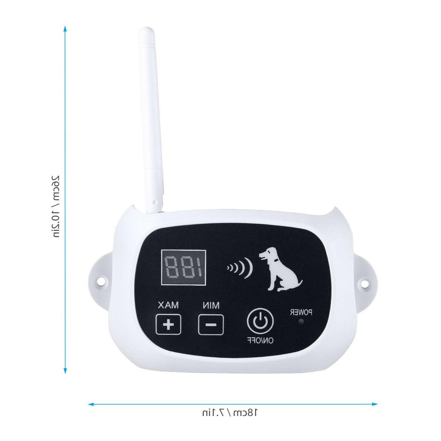 Wireless Pet Containment System Collars 1/2/3