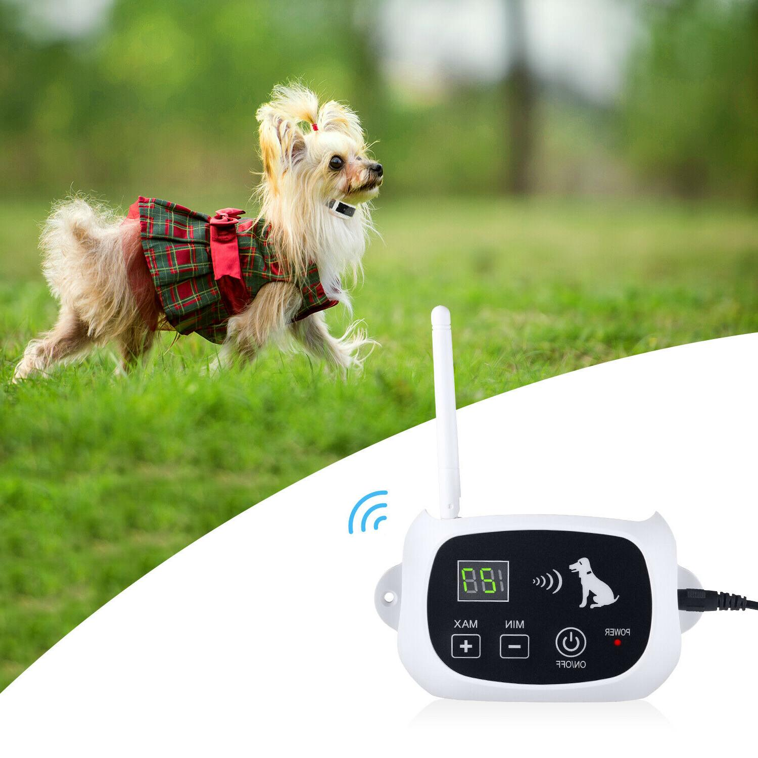 Wireless Electric Dog Pet System Collars 1/2/3