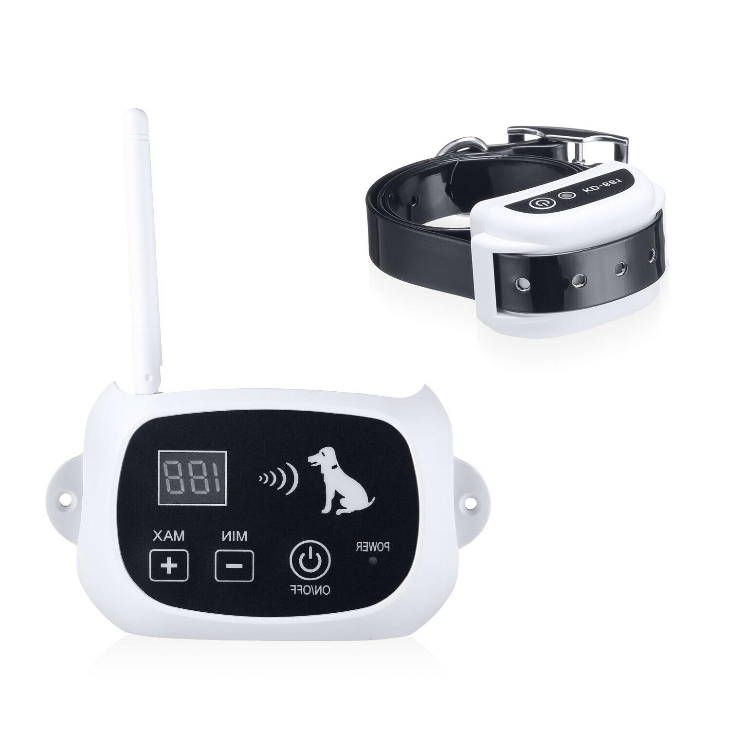 Wireless Electric Dog Fence Pet Shock Collars For