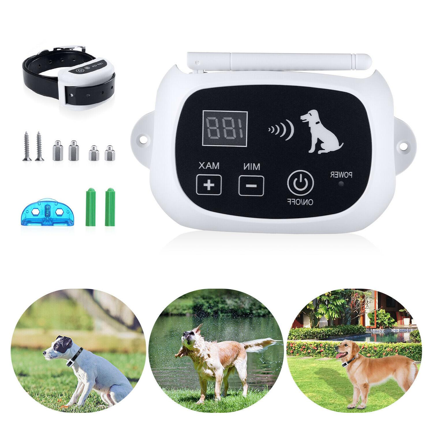 Wireless Pet Collars For