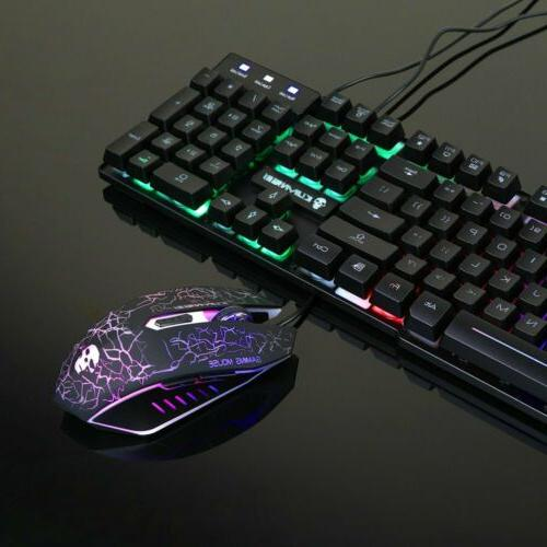 Gaming Mouse Rainbow for Laptop Slim