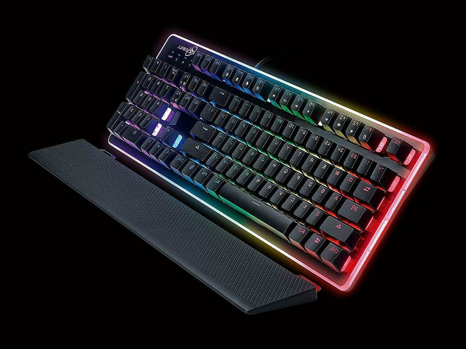 ROSEWILL Gaming Keyboard,RGB Backlit Feel