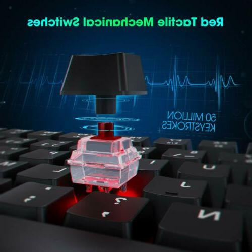 VicTsing Red Keyboard Switch