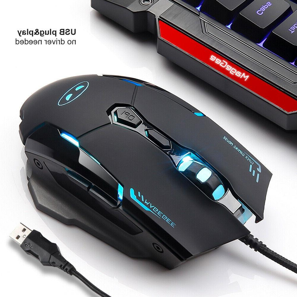 GK806 Gaming and Mouse 104Key Wrist Rest for