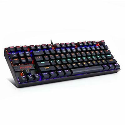 k552 mechanical gaming keyboard rgb led rainbow