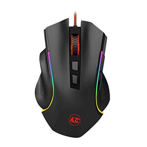 Redragon Gaming Keyboard and LED 87 Key Mechanical Computer USB Gaming Programmable Gaming Mouse M602
