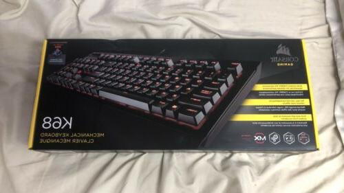 k68 mechanical gaming keyboard cherry mx red