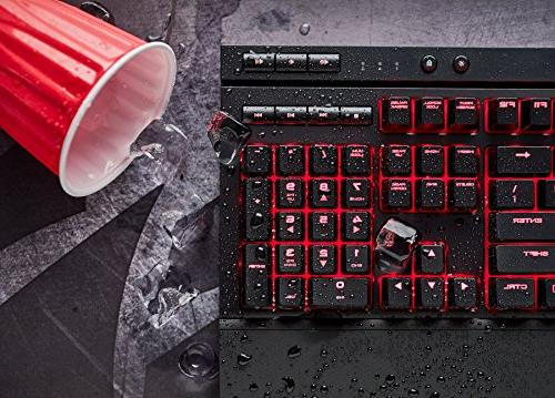 CORSAIR Keyboard, Red Dust and - Quiet