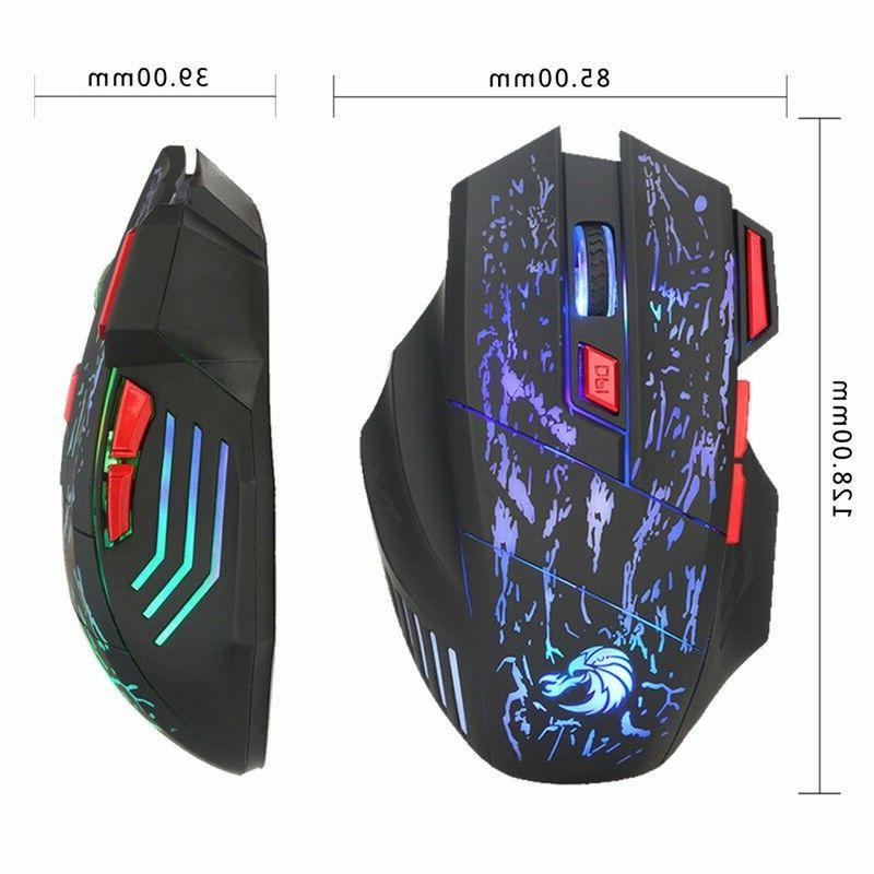 Gaming Keyboard Mouse Adapter PS4 Xbox and 360 Rainbow LED