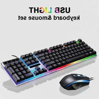 Keyboard For PS4*PS3 And 360 Gaming LED Combo