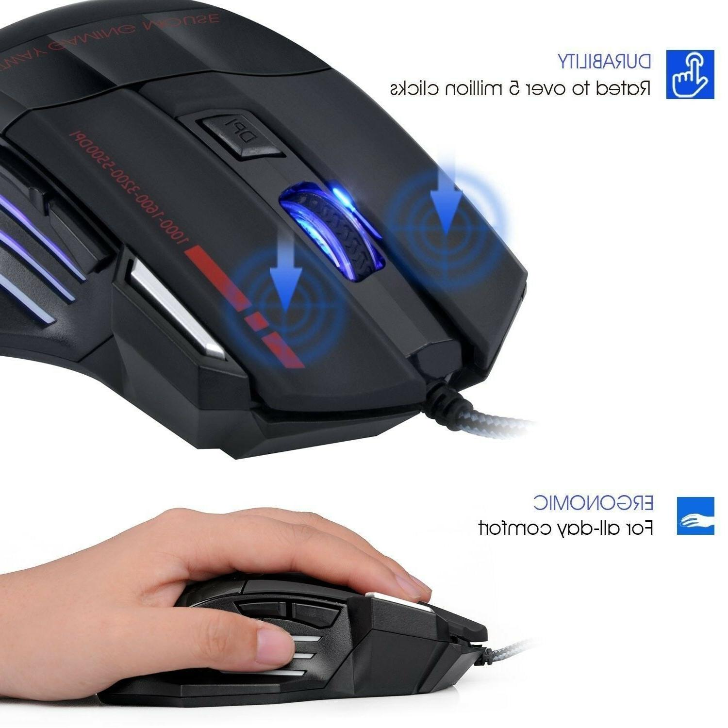 Keyboard Mouse One 360 Rainbow