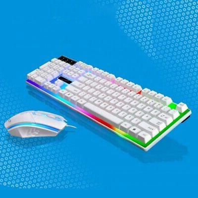 Keyboard Mouse Sets PS4/PS3/Xbox Gaming Rainbow LED