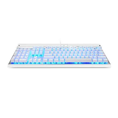 Eagletec USB Keyboard, Aluminium, Backlit and Switch with 104 Illuminated Keys Office