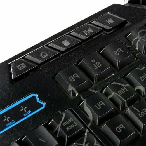 LED Gaming Keyboard PS4 One and