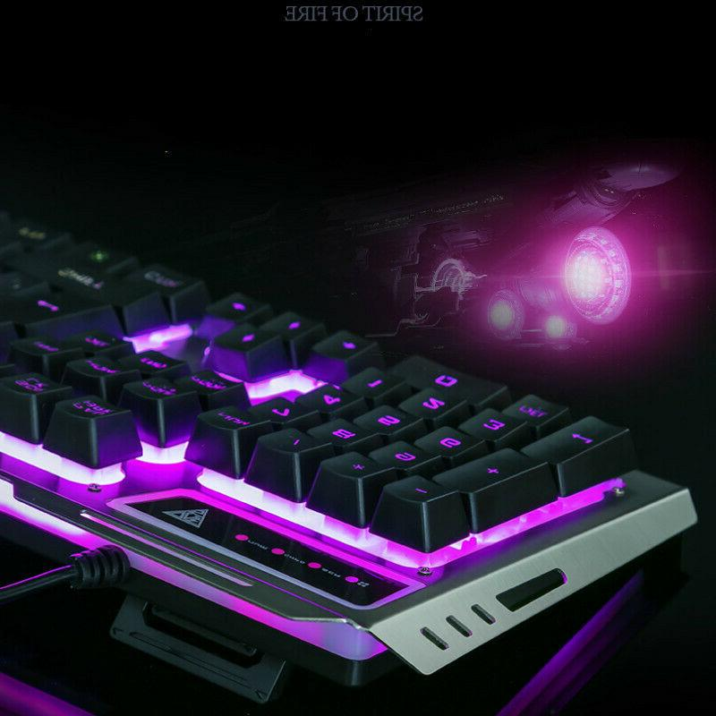 US Cable Keyboard+Mouse Set