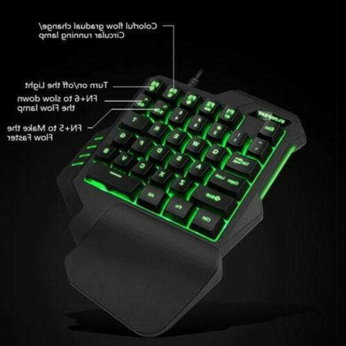 Mini Keyboard Hand Keypad PC Laptop