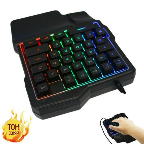 Mini Gaming RGB Led USB Wired Accessory