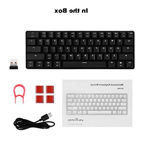 Velocifire Size Mechanical Keyboard, with Outemu Switches for Copywriter, and